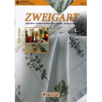 Ideas de Bordado: Flores, verduras y más Zweigart 103/133