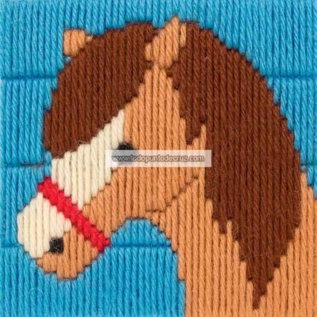 Primer Kit: Caballo Puntada Larga Anchor 3690000-30008 Dylan 1st kit Long Stitch