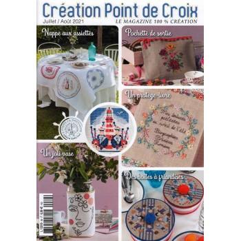 Revista Creaciones en Punto de Cruz Nº 89 Creation Point de Croix