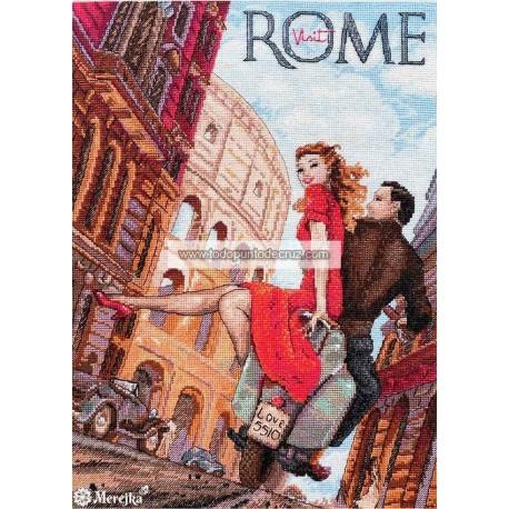 Visitando Roma Merejka K-180 Visit Rome