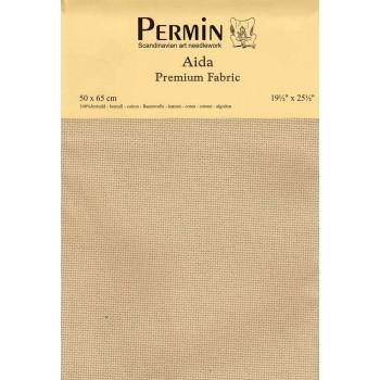 Tela aida 14 ct. Beige Precioso Permin 357-321 Beautiful Beige