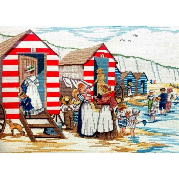 All Our Yesterdays: Casetas de Baño AOY FW8 Faye Withaker Ladies Bathing Huts