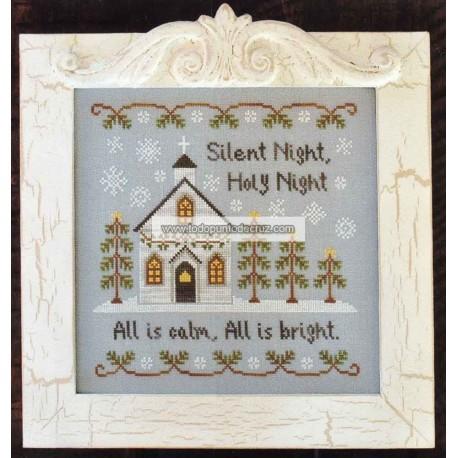 Noche de Paz, es Navidad Country Cottage Needlworks 70 Silent Night
