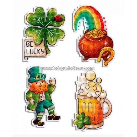Imanes Típico Irlandés MP Studia P-577 St Patrick's Day Magnets