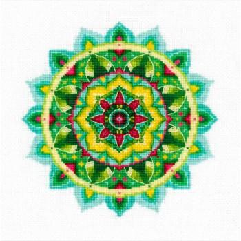Mandala de la Riqueza Interior RIOLIS 1964 Self-Knowledge Mandala