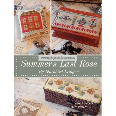 La Última Rosa del Verano Blackbird Designs 212 Summers Last Rose