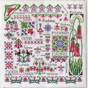 Soñando con Fucsias Rosewood Manor S-1182 Dreaming of Fuchsias