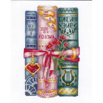 Libros para Ella Andriana K-46 Books for Her
