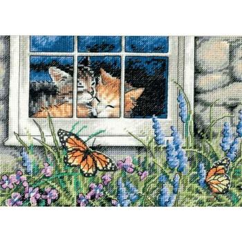 Amor Felino Dimensions D65051 Feline Love