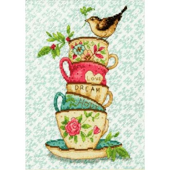 Tazas de Té Apiladas Dimensions 70-65171 Stacked Tea Cups