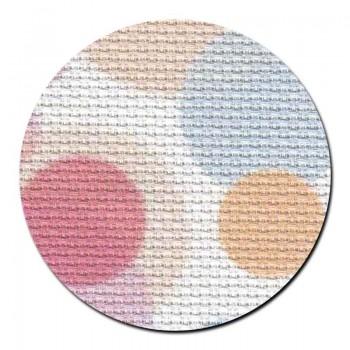 Tela aida 14 ct. Puntos de Colores MP Studia 14-166