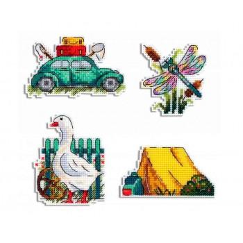 Imanes Estaciones: Verano MP Studia P-579 Seasons Summer Magnets
