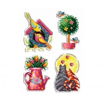 Imanes Estaciones: Primavera MP Studia P-578 Seasons Spring Magnets