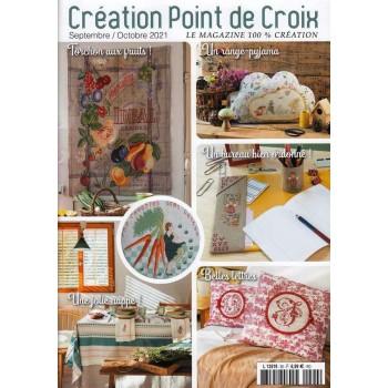 Revista Creaciones en Punto de Cruz Nº 90 Creation Point de Croix