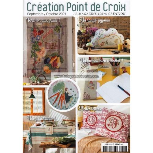 Revista Creaciones en Punto de Cruz Nº 90