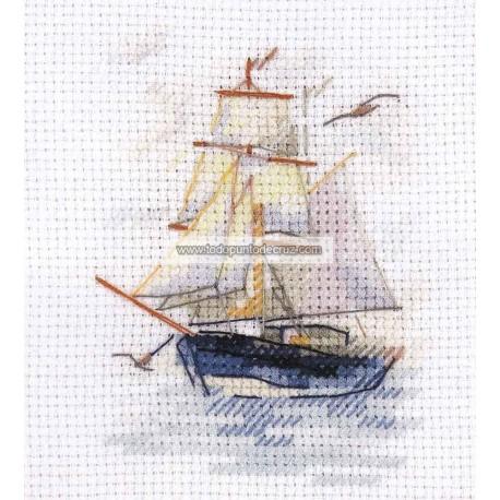 Pequeño Velero Alisa 0-222 Sailing Ship