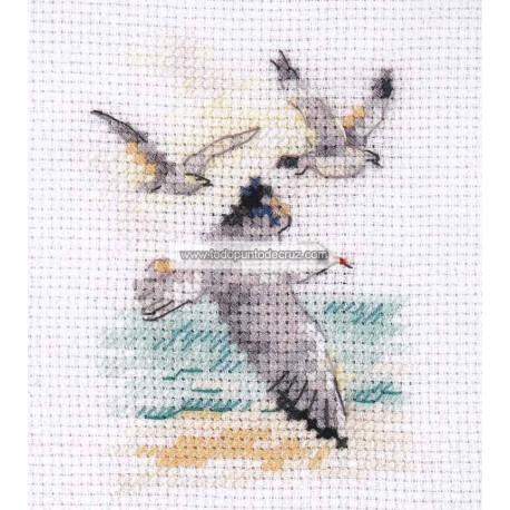 Gaviotas al Viento Alisa 0-221 Wind from the Sea Seagulls
