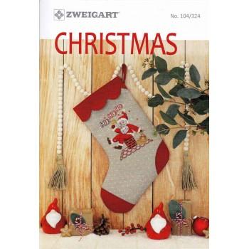 Ideas de Bordado: Navidad Zweigart 104-324 Christmas