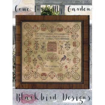 Entra en mi Jardín Blackbird Designs 316 Come into my Garden