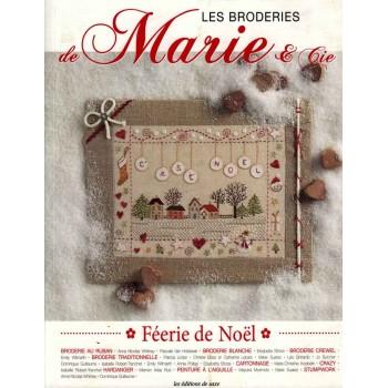 Los Bordados de Marie & cia (Feria Navideña) Editions de Saxe Les Broderies de Marie Féerie de Noël