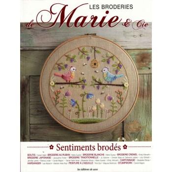 Los Bordados de Marie & cia (Sentimientos Bordados) Editions de Saxe Les Broderies de Marie & Cie Sentiments Brodes
