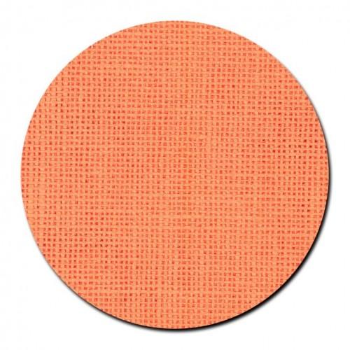 Tela de lino 28 ct. Naranja Brillante