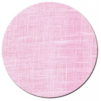 Tela de lino 28 ct. Rosa Chicle