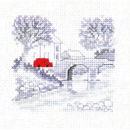 Coche Rojo: en el Puente