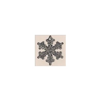 Mill Hill 12039 Large Snowflake Crystal Bright