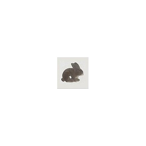 Mill Hill 12192 Sitting Bunny Matte Gray/Brown