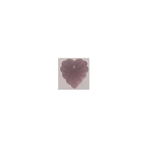 Mill Hill 12072 Frosted Starburst Heart Matte Rose