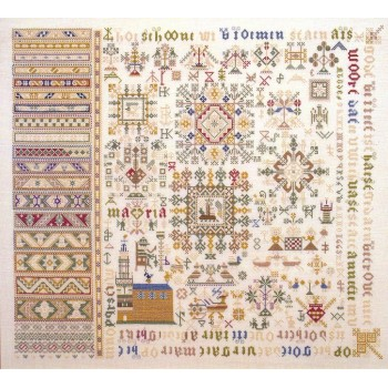 Sampler Antiguo 1663
