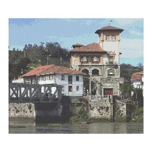 Paisajes de Asturias: Casa de Bustio