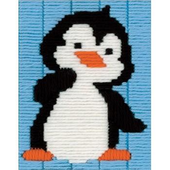 Pingüino (Puntada Larga)