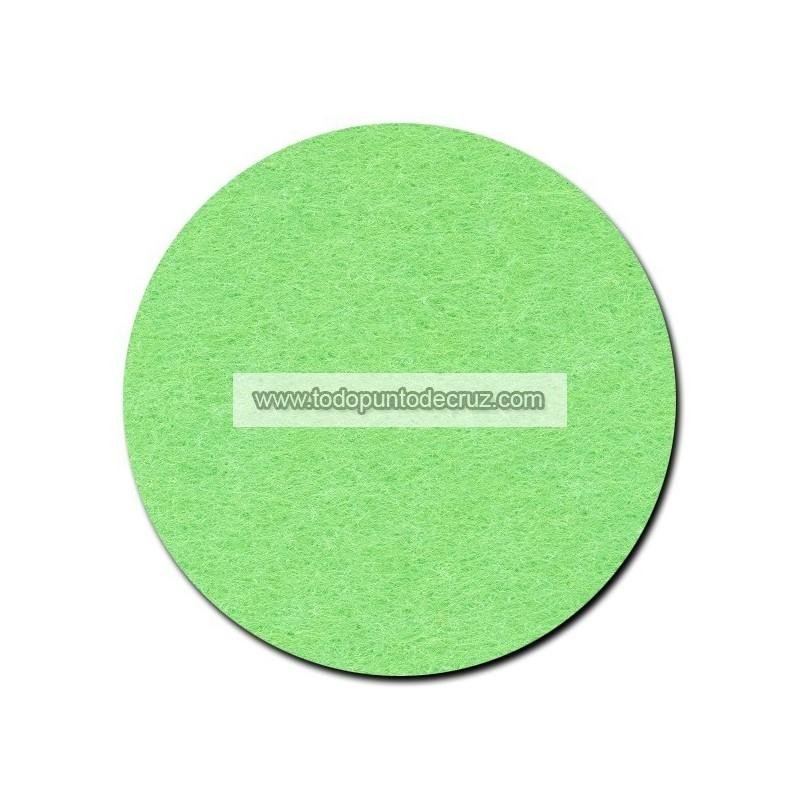 Hoja de Fieltro Verde Claro