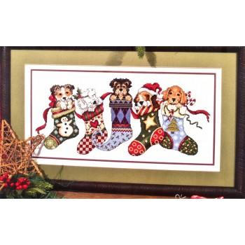 Colgados en Navidad