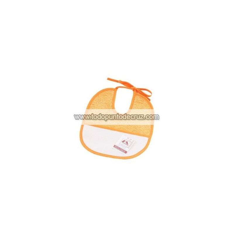 Naranja: Babero Ruso Pequeño