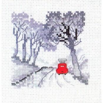 Coche Rojo: En el Bosque