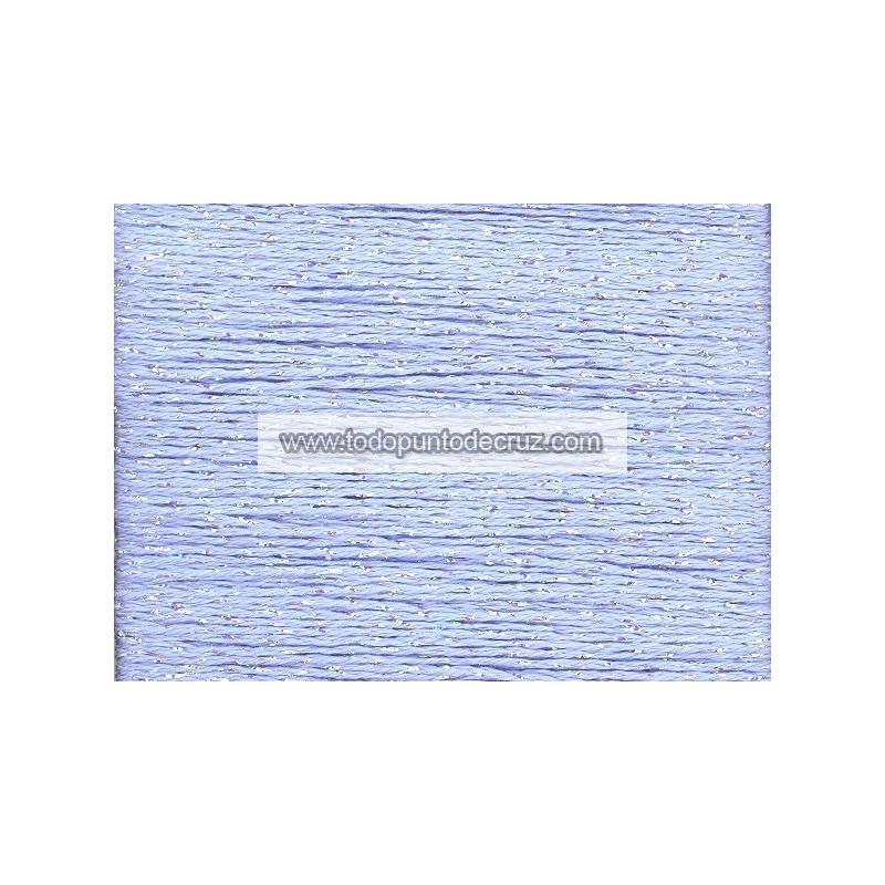 Hilo Petite Silk Lame SP47 Lavender Blue de Rainbow Gallery