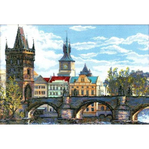 El Puente Carl en Praga