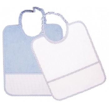Babero Plastificado Azul
