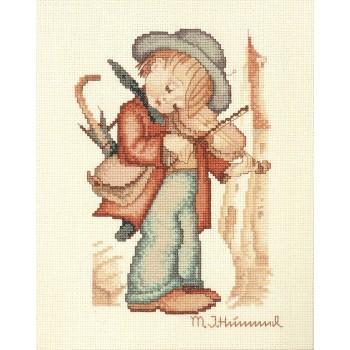 Bordado El Pequeño Violinista (Hummel)