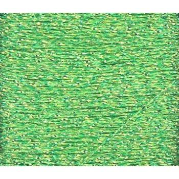 Hilo Glissen Gloss Rainbow  Blending Thread Verde Lima Brillante 308