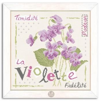 Violeta Lili Points J007 Violette Violet