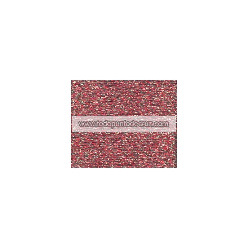 Hilo Rainbow 605 Rojo Ladrillo Blending Thread