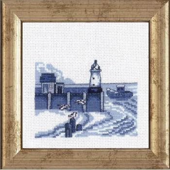 Faro en Azul