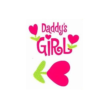 Transferible Termoadhesivo Mummy Daddy Girl