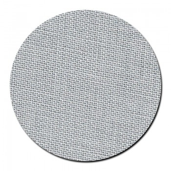 Tela lino 28 ct. Color Gris Plata