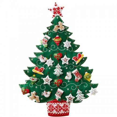 Calendario de Adviento Árbol de Navidad