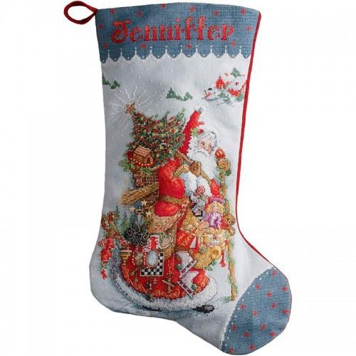 Bota Antiguo Papá Noël